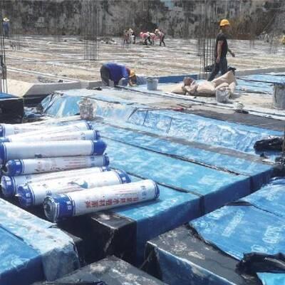 贵州防水建材施工实景